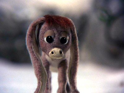 Nestor the Long Eared Christmas Donkey....My favorite childhood ...
