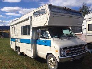 1978 Dodge Motorhome Dodge Sportsman Recreational Vehicles Remodeled Campers