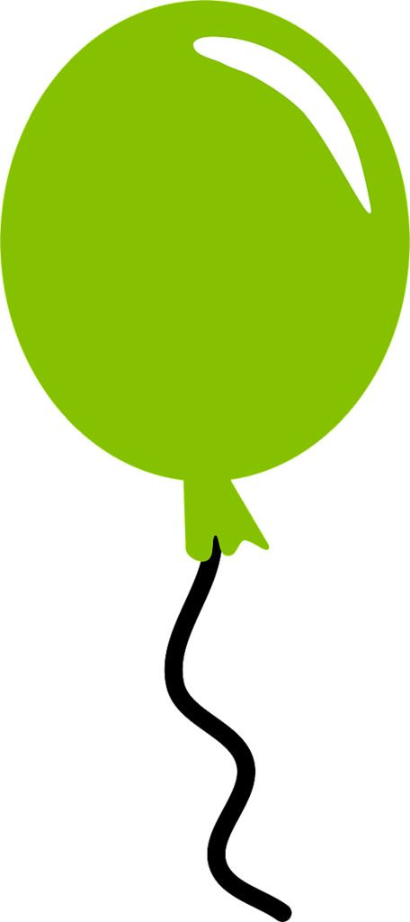 balloon green | Balloon clipart, Balloons, Baloon art