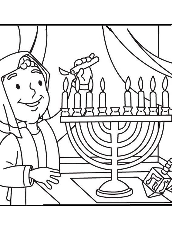 Images Lighting The Menorah Coloring Pages For Kids Bez Printable Hanukkah Coloring Pages For Coloring Pages Cat Coloring Page Free Printable Coloring Pages