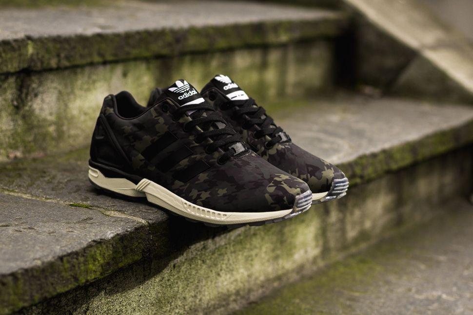Adidas Zx Flux Camo Black