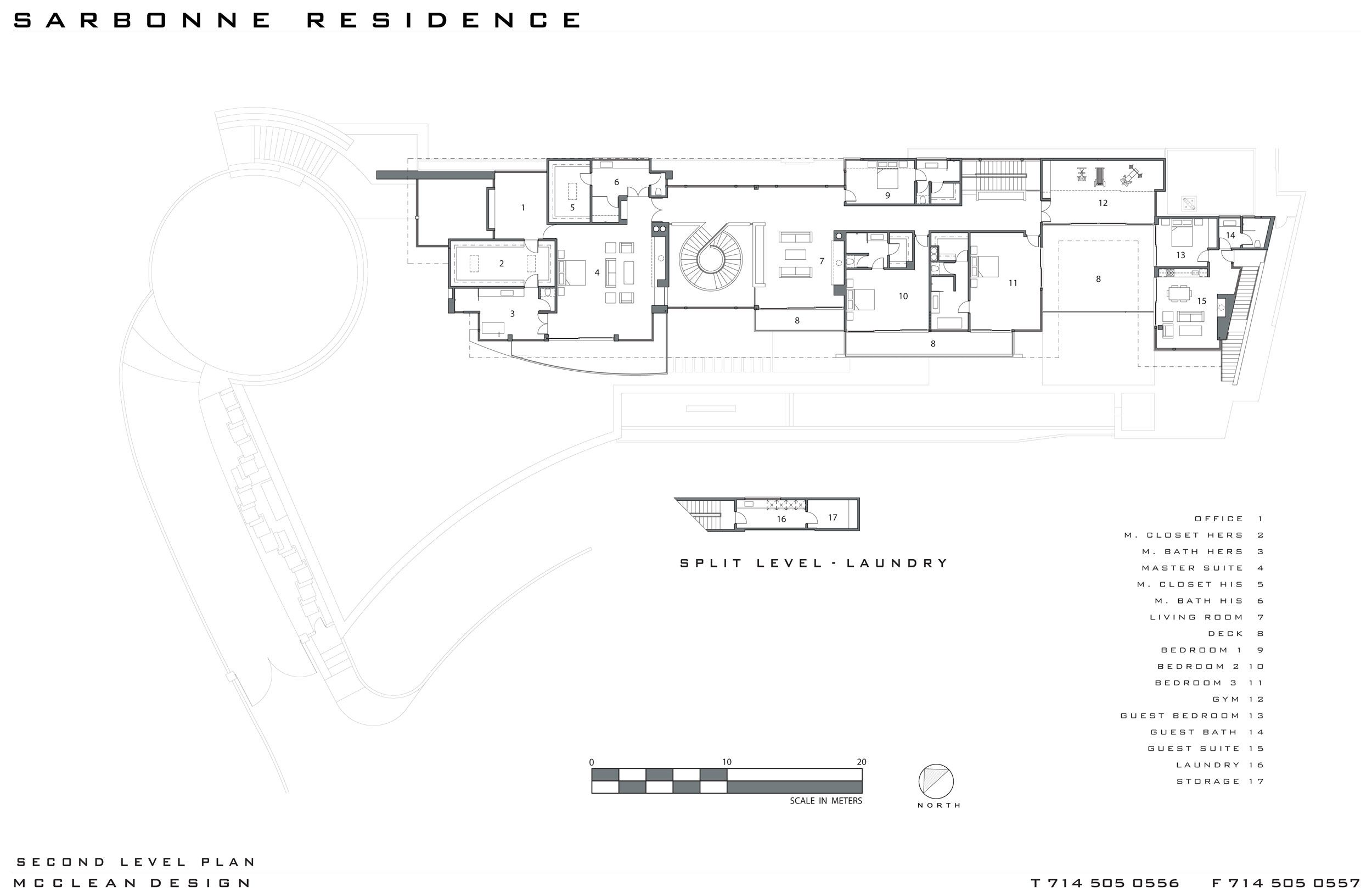 Sarbonne Road Residence By Mcclean Design Architecture Design How To Plan Modern Floor Plans Luxury House Floor Plans