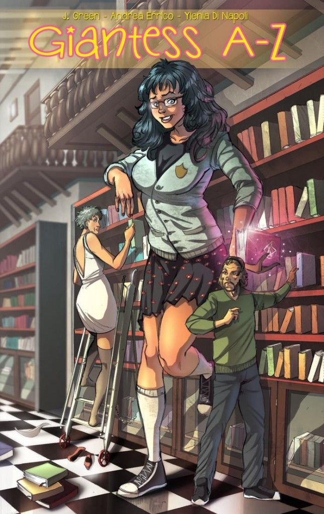 Mini Giantess Librarian From -4531