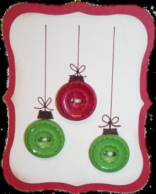 "homemadechristmascards   Lindsey created homemade ""ornaments"" using Jenni Bowlin Vintage ..."