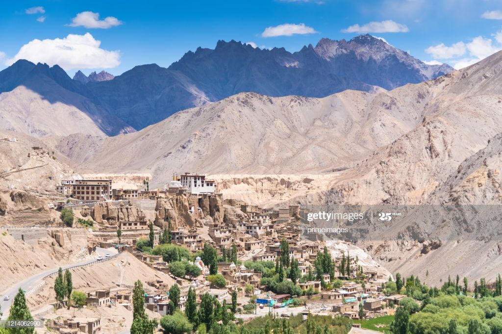 Panorama Of A Nature And Landscape View In Leh Ladakh India Photography #Ad, , #spon, #Landscape, #View, #Panorama, #Nature
