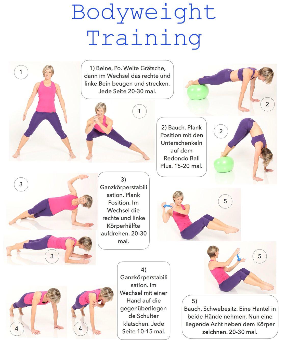 15 Minuten Bodyweight Training. Mehr Charts unter: http://www.brasil ...