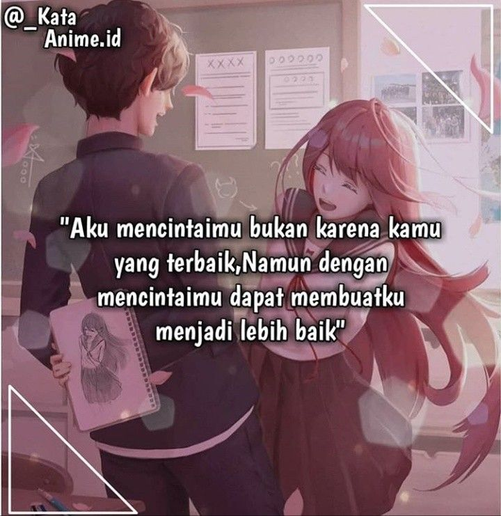 Pin Di Kata Kata Anime
