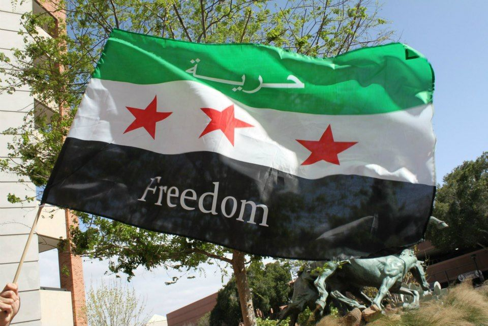 In 1958 This Flag Was Abandoned When Syria Joined The United Arab