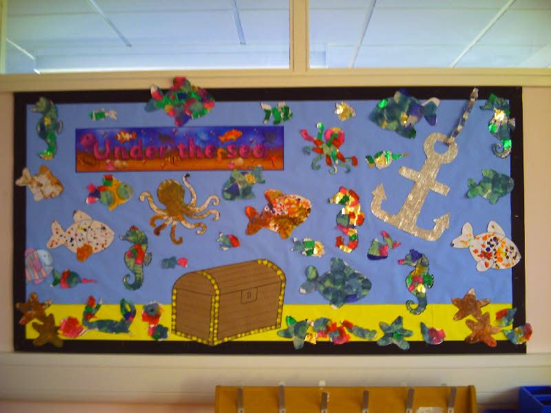 Classroom Display Ideas Under The Sea ~ Beach classroom theme education pinterest