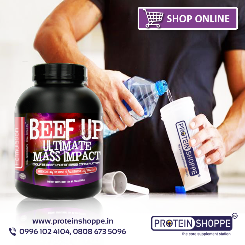 Beef Up Ultimate Mass Impact 2 2lb | Protein Shoppe Online