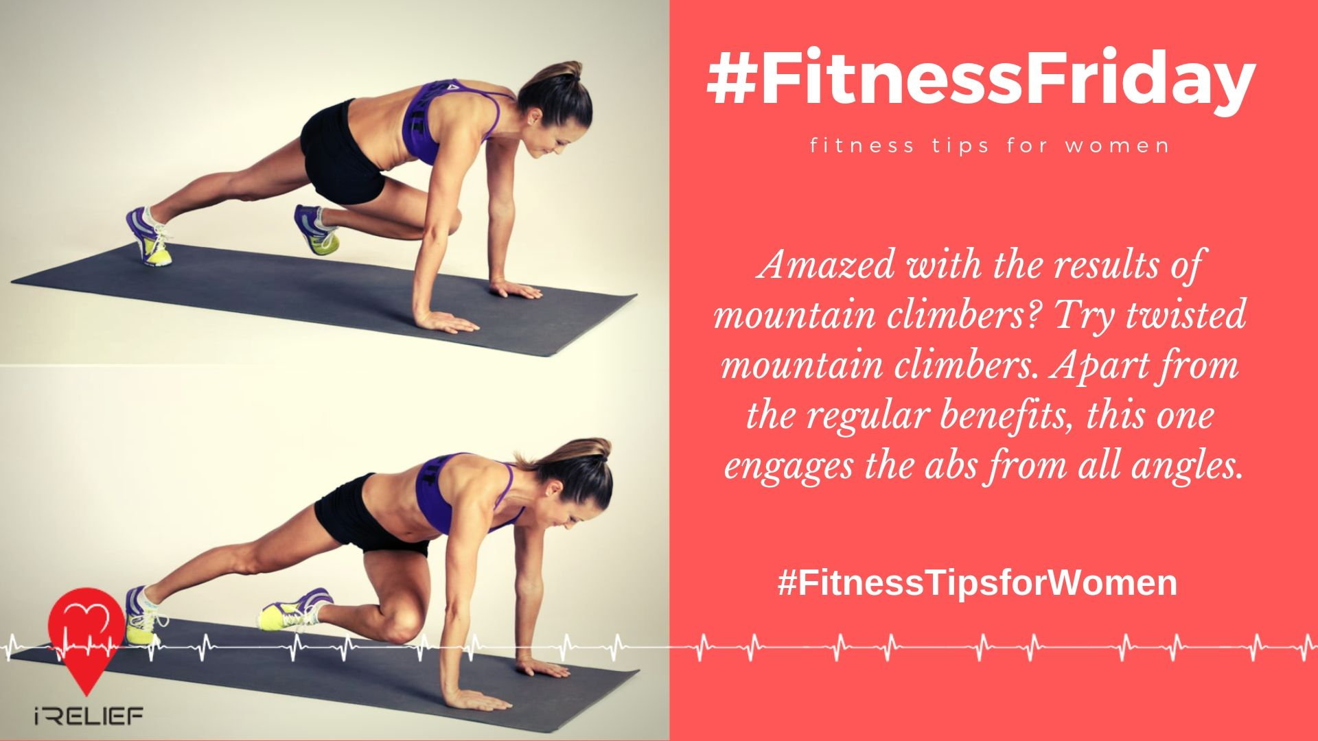 Amazed With The Results Of Mountain Climbers Try Twisted Mountain Climbers Apart From The Regular Ben Fitness Tips For Women Friday Workout Emergency Medical