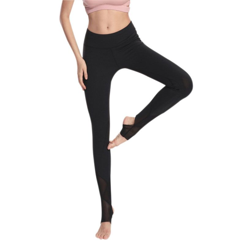 9fc3e21242 Sexy Women Yoga Pants Quick Dry Sport Fitness Gym Workout Tight Stretch Leggings  Mesh Splice Long