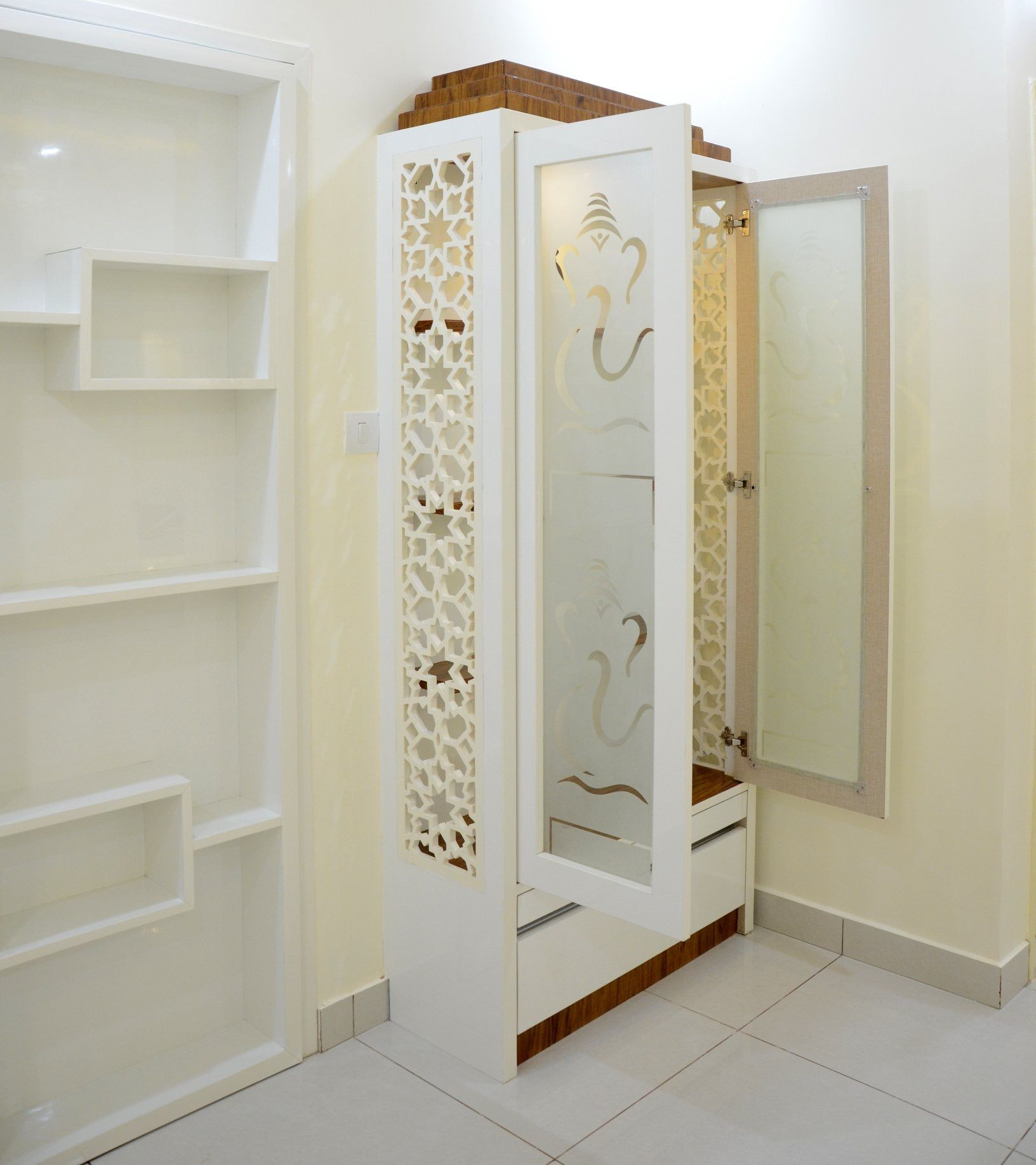Room Door Design, Pooja Room Door Design