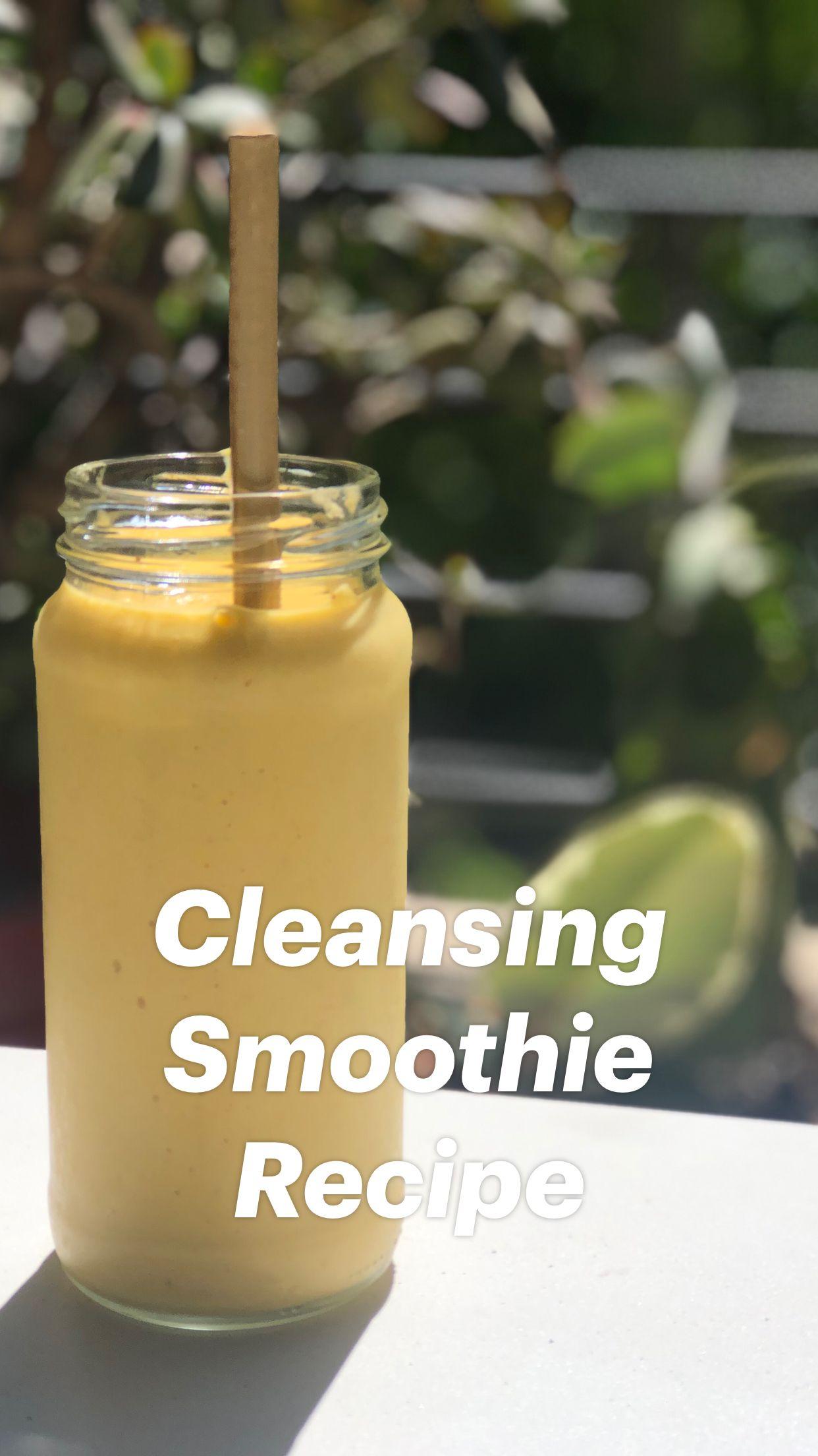 Cleansing Smoothie Recipe