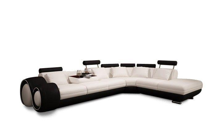 Stylish Design Furniture - Divani Casa  4086 - Modern  Leather Sectional Sofa, $2,362.50 (http://www.stylishdesignfurniture.com/products/divani-casa-4086-modern-leather-sectional-sofa-1.html)