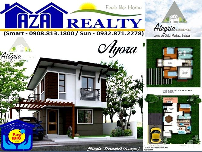 Ayora Model Single Detached House Alegria Residences Ba