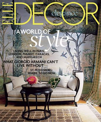 "Home Decor Magazine elle decor magazine – price: $4.50 with coupon code: decor | ""elle"