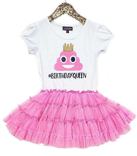 Poop Emoji Dress