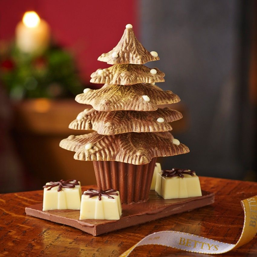 Christmas Tree Chocolates Part - 17: Milk Chocolate Christmas Tree (with Parcels)