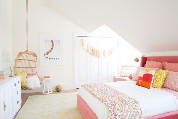 Ambientes De Habitaciones Juveniles Para Chicas Con Mucho Estilo In - Decoracion-dormitorios-juveniles-femeninos
