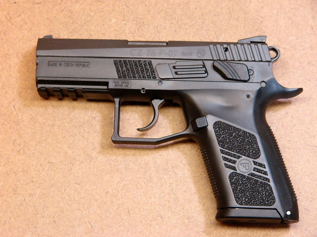 CZ P-07 in 9mm, my buddy just ordered one of these, can't wait to
