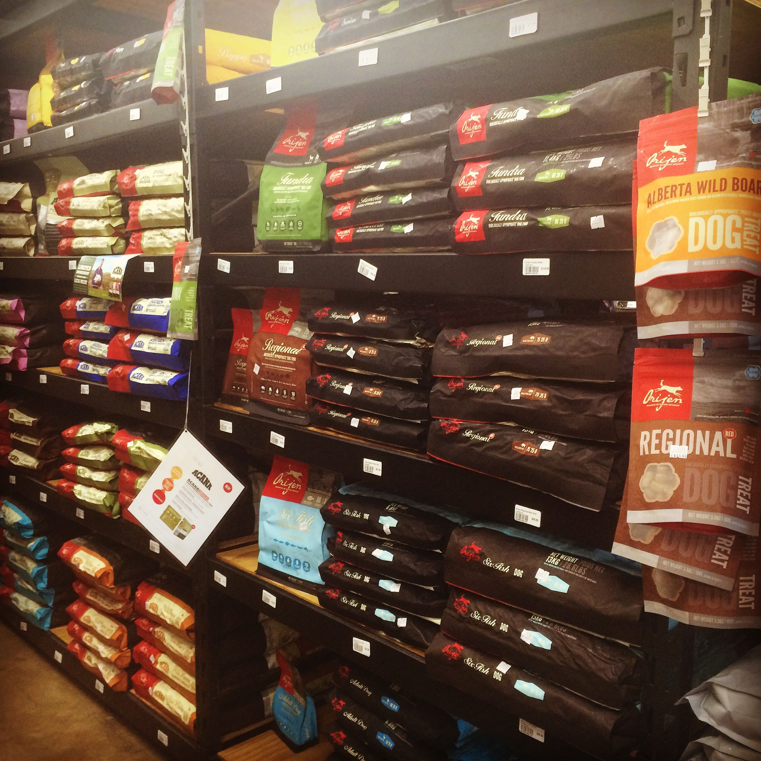 Fully Stocked Shelves Of Orijen And Acana Dog Food Can T Have