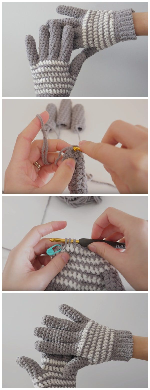 Crochet along with Brittany as she teaches you how to crochet a pair of cozy crochet gloves. These crochet fingerless gloves are so simple you can easily make a pair in less than two hours. Enjoy !