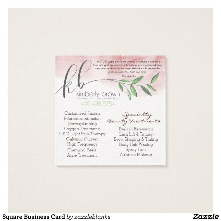 Square business card zazzle mission meaning of adonai spa customizable business card made by zazzle paper reheart Gallery