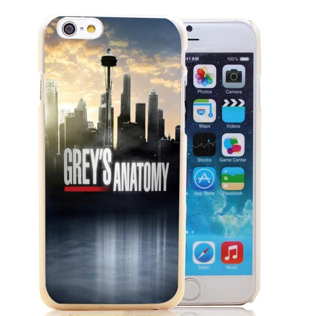 Grey\'s Anatomy Seattle Skyline iPhone Case | Anatomy, Fans and Grays ...