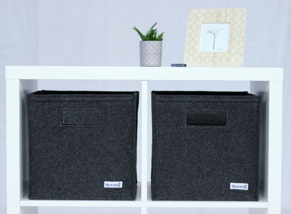 felt box fit into lots of shelves also in ikea expedit and. Black Bedroom Furniture Sets. Home Design Ideas