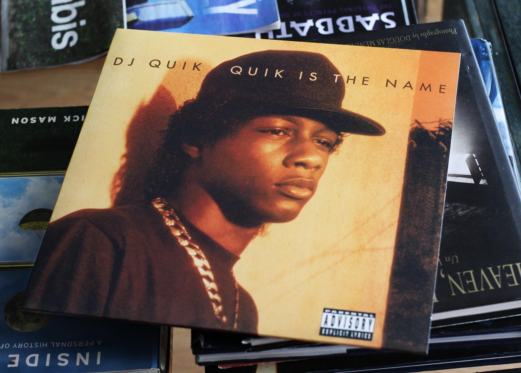 Dj Quik Quik Is The Name 1991 1800x1289 Oc Dj Quik Dj Hip Hop Rap