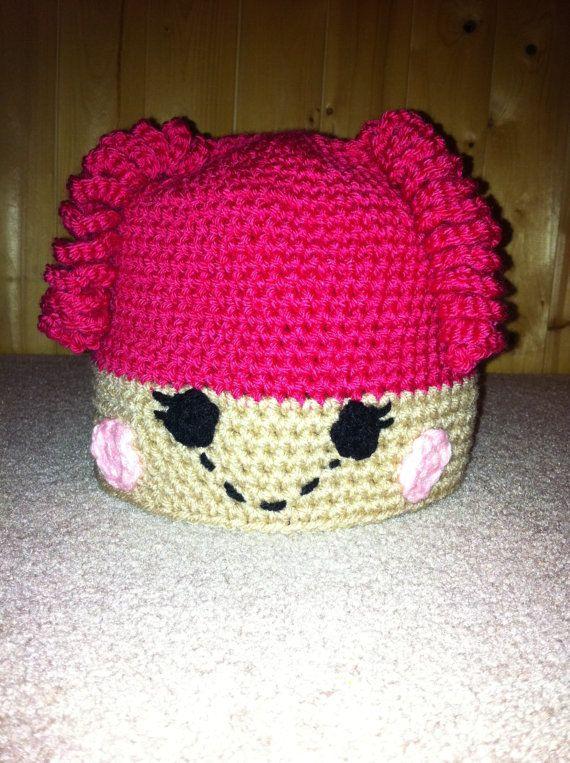 Pink Hair Lalaloopsy Lalaloopsie Hat Custom by CreationsbyShan, $18.00