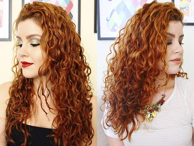 Pin em Curly Red