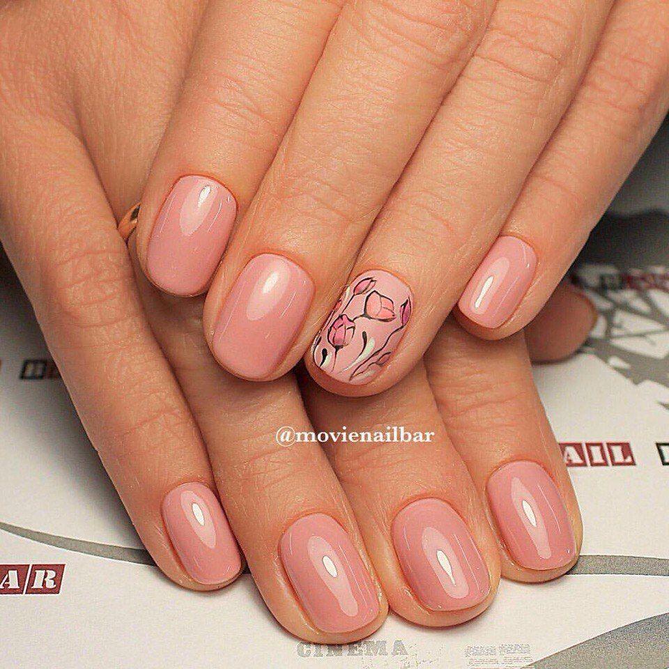 Nail Art #3289 - Best Nail Art Designs Gallery | Beige nail art ...
