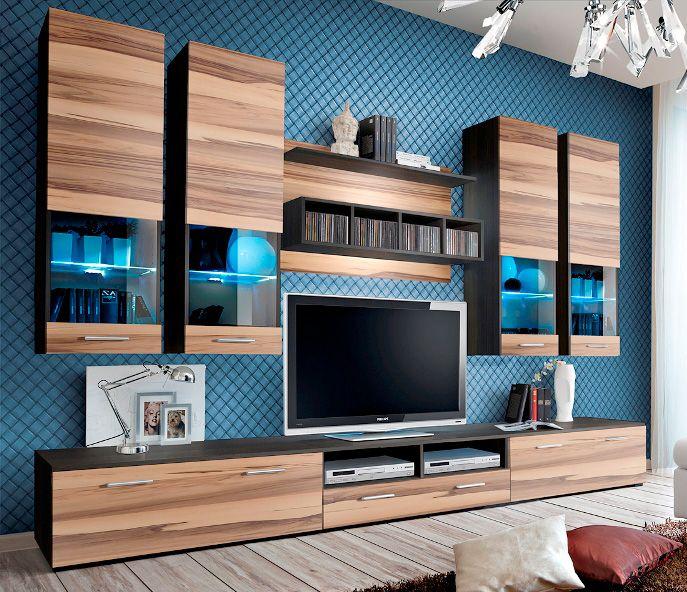 Montreal 3 - baltimore matt wall unit | Modern wall units, Living ...
