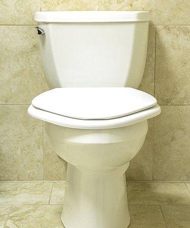 Big John Toilet Seat.Love This Big John Standard Toilet Seat On Zulily