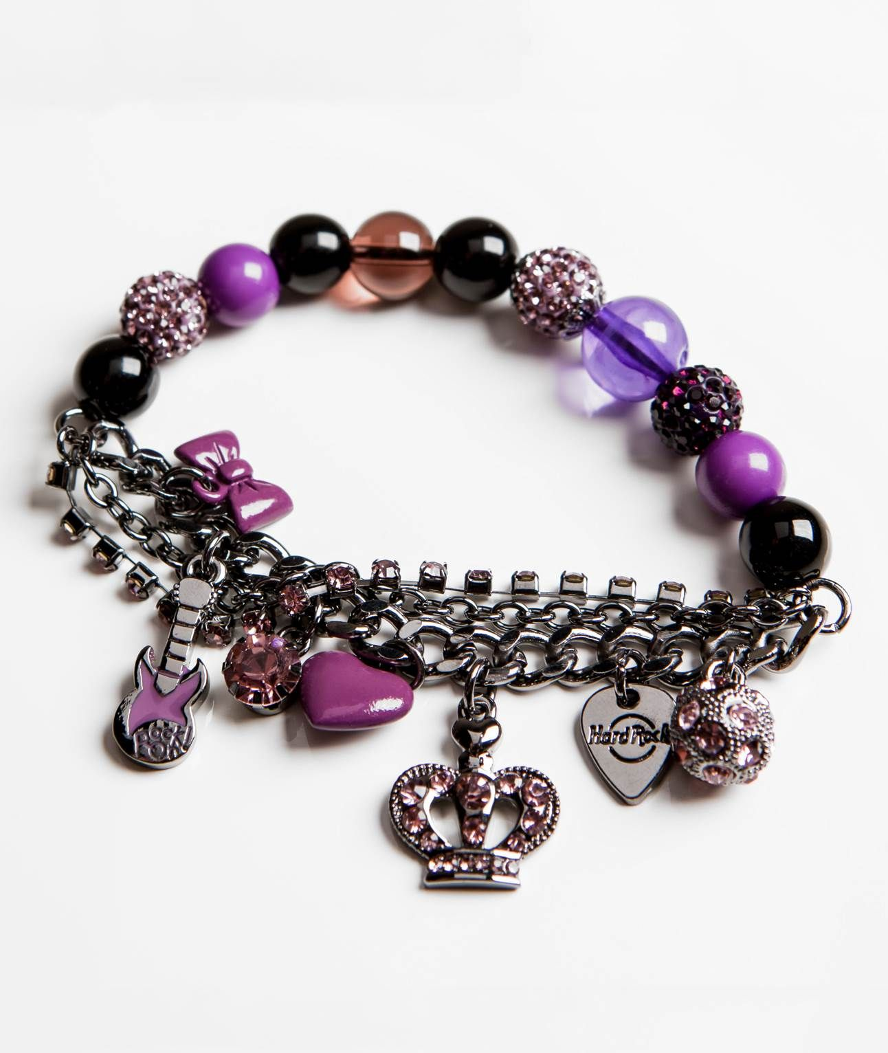 """Purple Couture Bracelet 