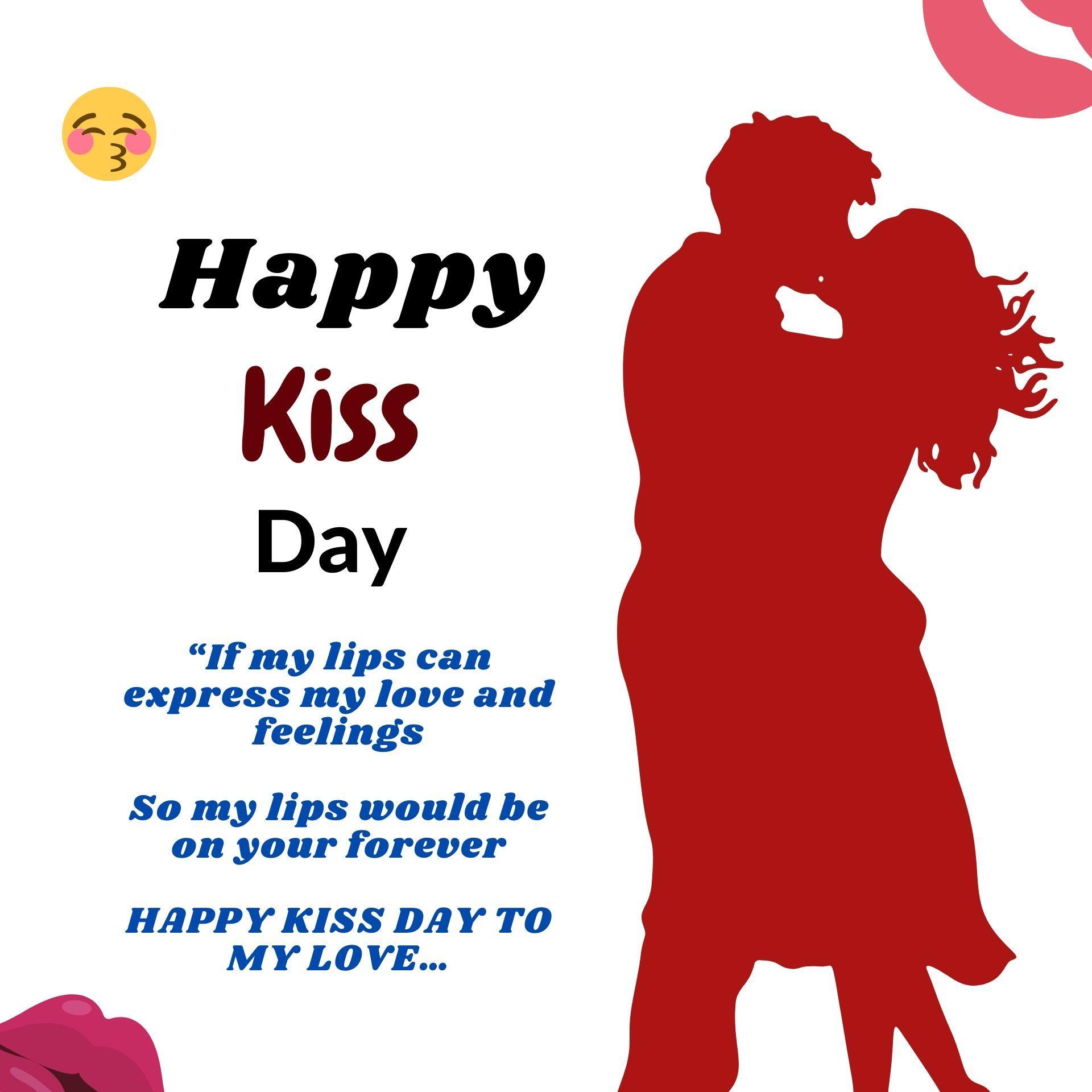 Happy World Kiss Day 2020 In 2020 World Kiss Day Kiss Day Happy Kiss Day