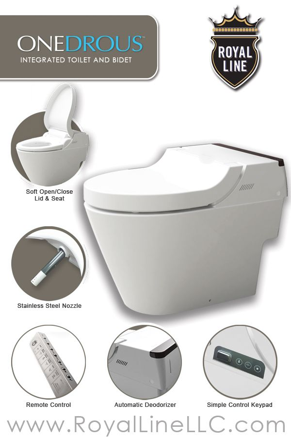 Astonishing Onedrous The Royal Line Integrated Toilet Bidet Toilet Pabps2019 Chair Design Images Pabps2019Com