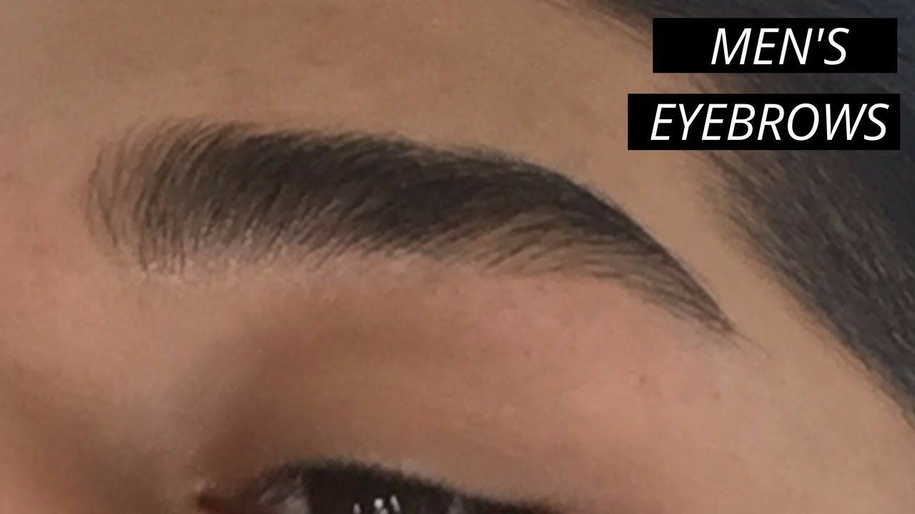 How To Shape Thick Eyebrows Men S Eyebrow Grooming 2017