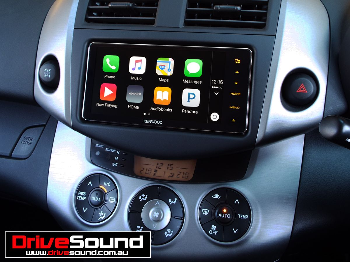 Toyota RAV4 with Apple CarPlay installed by DriveSound