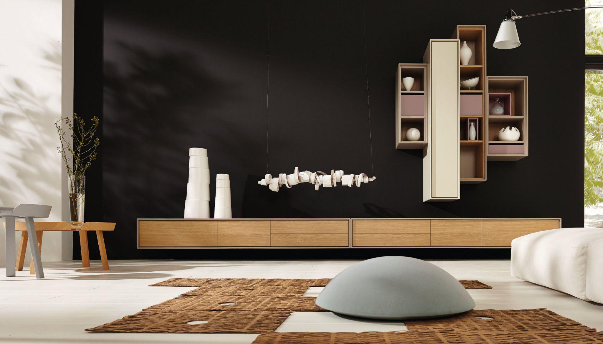 hulsta lilac tv unit, living: hülsta - die möbelmarke | 现代风格客厅modern livingroom, Innenarchitektur