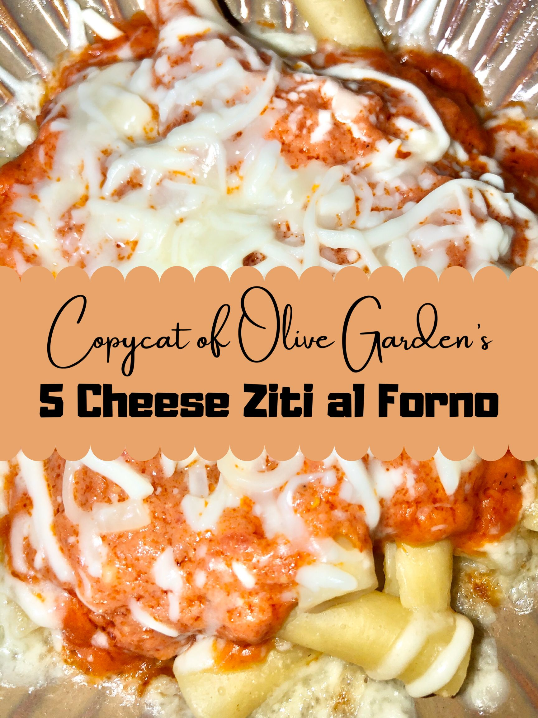 Super Easy to Make Five Cheese Ziti al Forno Recipe A