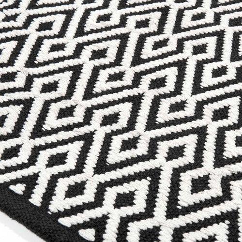 tapis noir et blanc tapis noir