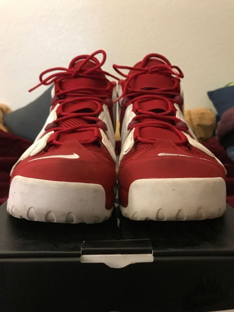 a9a32b8abf52 SUPREME X NIKE AIR MORE UPTEMPO (SUPTEMPO) RED  fashion  clothing  shoes