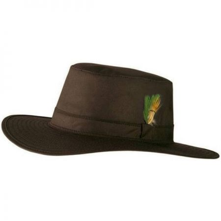 Brown wide brimmed hat, similar to that worn by Frederick Bishop (battlefield 1)