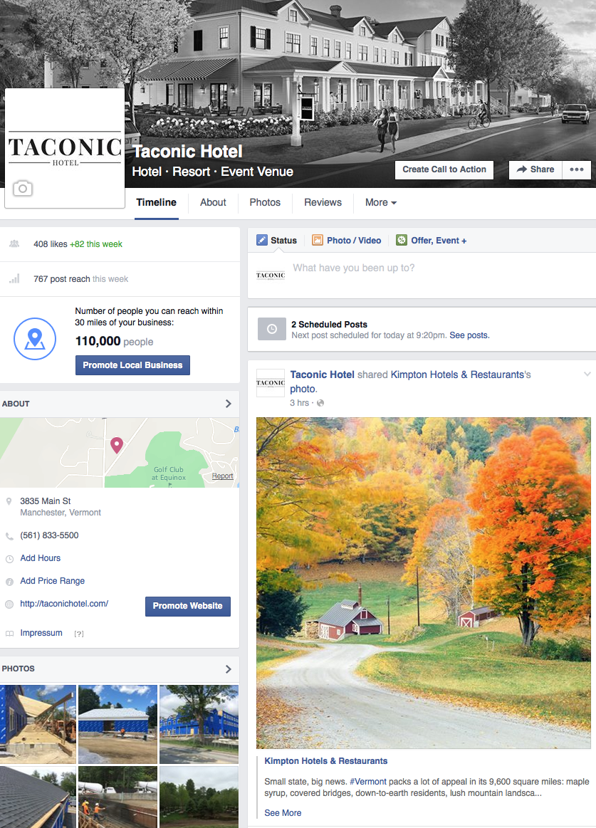 Taconic Hotel To Open In Manchester Vermont Manchester Hotels