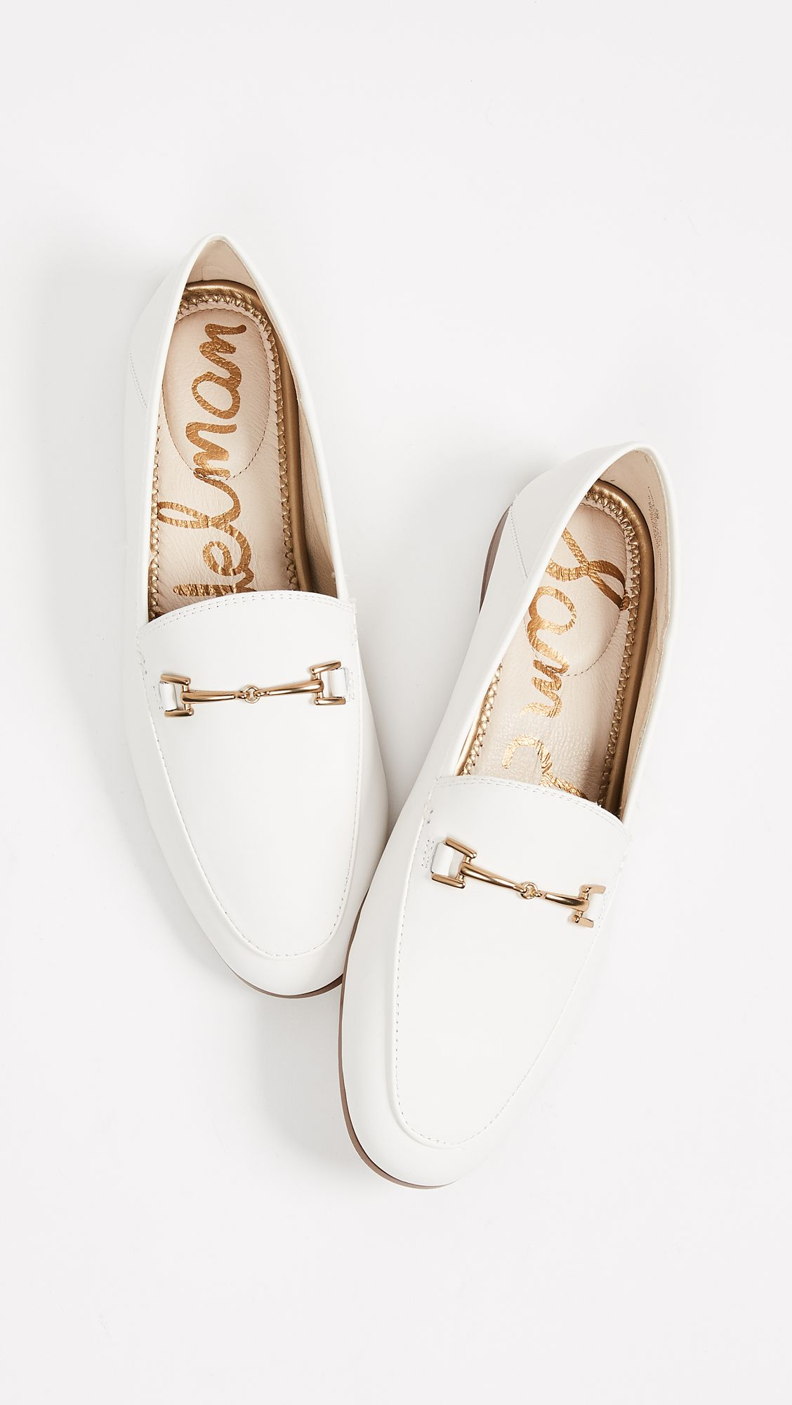 Sam Edelman Loraine Loafers | White
