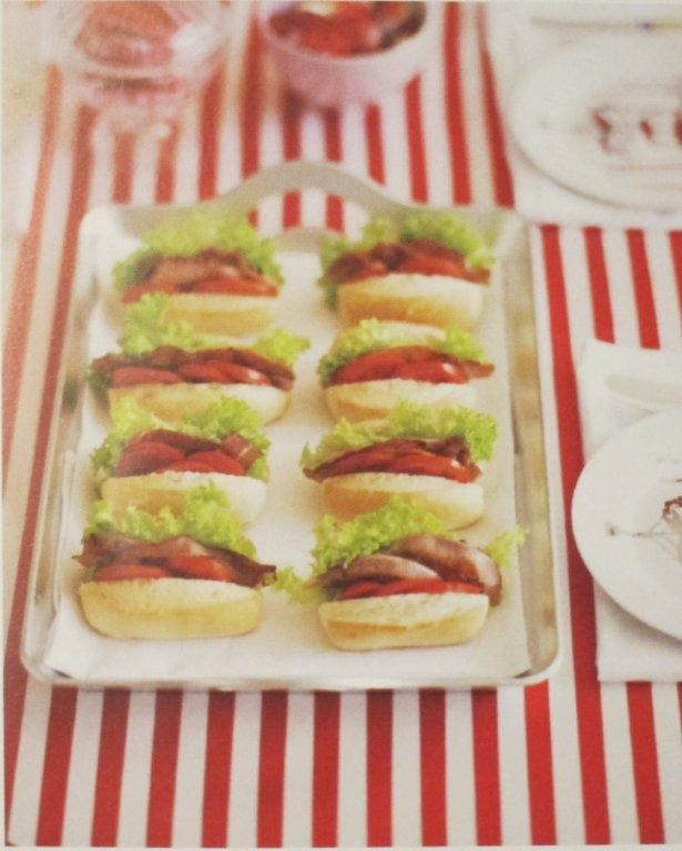 Birthday Party Food Ideas Baby BLTs