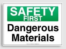 Free Printable Safety First Signage Signs Safety Safety First